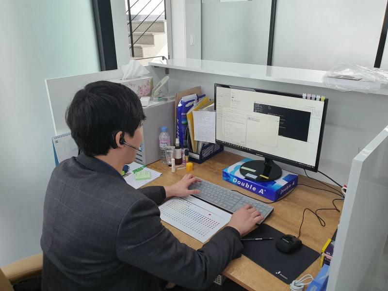 고속 컬러복사기임대 AP-V C5576  강남 설치사례! 5.jpg